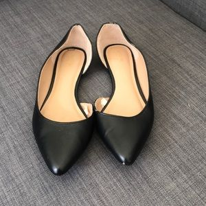 Target Mossimo Supply Co. Black Flats